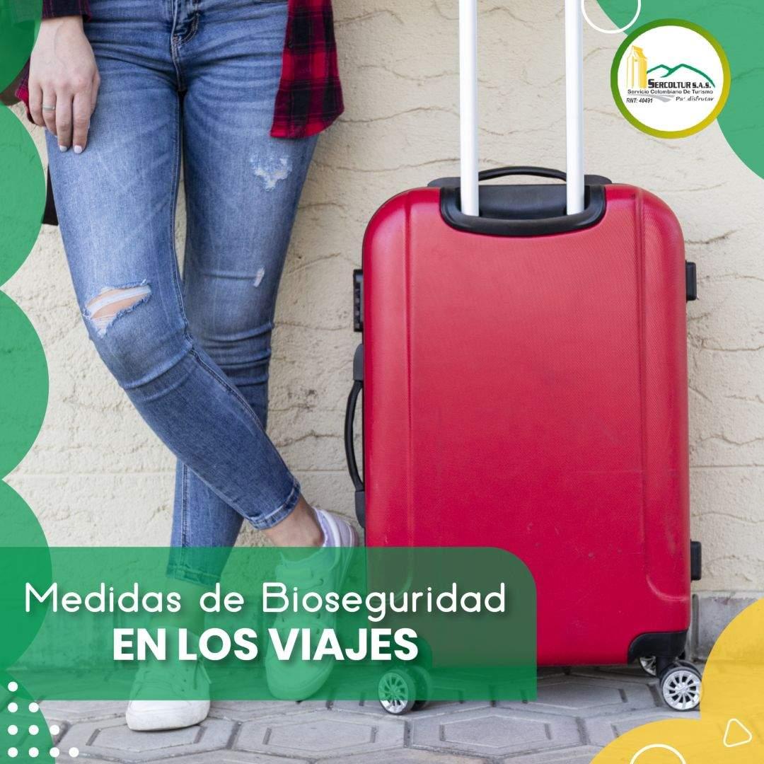 Medidas de bioseguridad en los viajes
