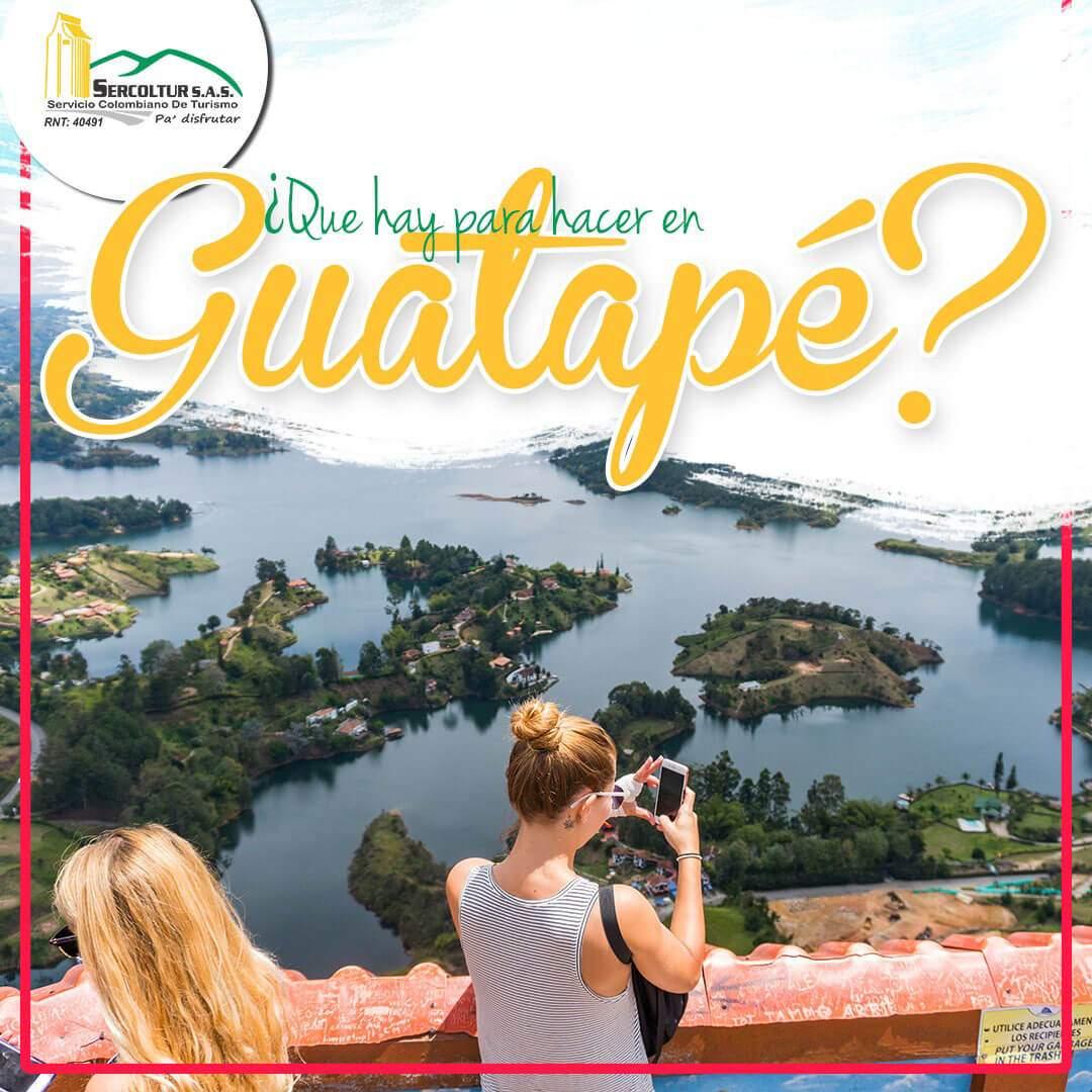 ¿Qué hacer en Guatapé?